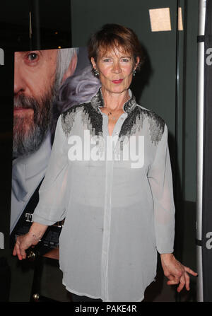 West Hollywood, Ca. 23rd July, 2018.  Celia Imrie, at the Los Angeles Premier of The Wife at the Pacific Design Center in West Hollywood, California on July 23, 2018. Credit: MediaPunch Inc/Alamy Live News - Stock Photo