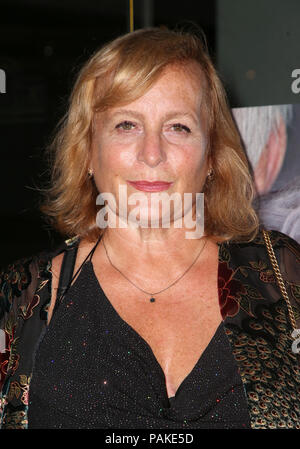 West Hollywood, Ca. 23rd July, 2018.  Lena Runge, at the Los Angeles Premier of The Wife at the Pacific Design Center in West Hollywood, California on July 23, 2018. Credit: MediaPunch Inc/Alamy Live News - Stock Photo