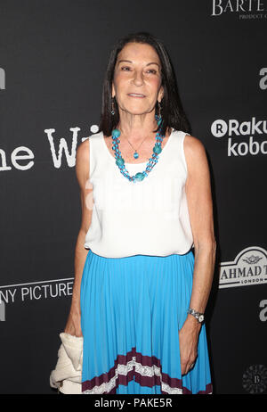 West Hollywood, Ca. 23rd July, 2018.  Rosalie Swedlin, at the Los Angeles Premier of The Wife at the Pacific Design Center in West Hollywood, California on July 23, 2018. Credit: MediaPunch Inc/Alamy Live News - Stock Photo