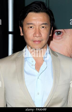 West Hollywood, CA. 23rd July, 2018. Chin Han at arrivals for THE WIFE Premiere, Pacific Design Center, West Hollywood, CA July 23, 2018. Credit: Priscilla Grant/Everett Collection/Alamy Live News - Stock Photo