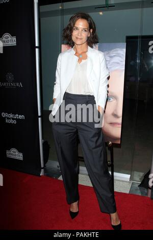 West Hollywood, CA. 23rd July, 2018. Katie Holmes at arrivals for THE WIFE Premiere, Pacific Design Center, West Hollywood, CA July 23, 2018. Credit: Priscilla Grant/Everett Collection/Alamy Live News - Stock Photo