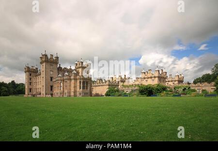 Floors Castle - Stock Photo