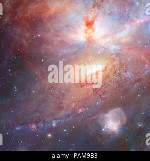 Star field and nebula in outer space Elements of this image furnished by NASA.