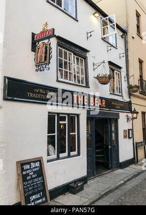 The Bear pub,Oxford, Oxfordshire, South East England, Uk - Stock Photo