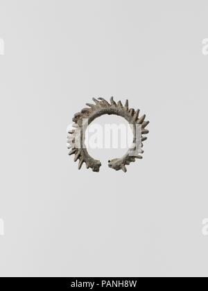 Wreaths, 11. Culture: Greek, Laconian. Dimensions: Diameter: 7/8 in. (2.3 cm). Museum: Metropolitan Museum of Art, New York, USA. - Stock Photo