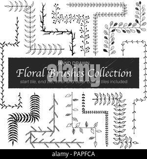 vector branches collection - Stock Photo