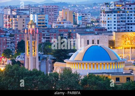 Albania, Tirana, resurrection cathedral, albanian orthodox church - Stock Photo