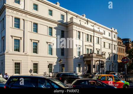 The Lanesborough Hotel, Hyde Park Corner, London, England - Stock Photo