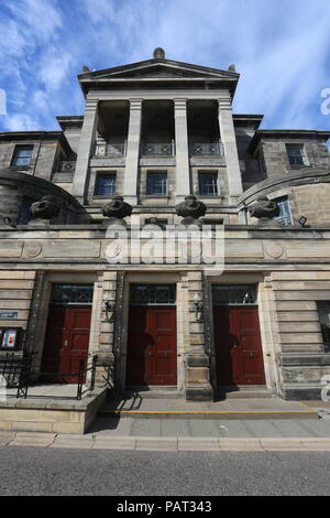 Younger Hall concert hall St Andrews University Fife Scotland  July 2018 - Stock Photo