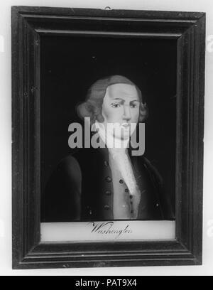 Plaque of George Washington. Artist: After Gilbert Stuart (American, North Kingston, Rhode Island 1755-1828 Boston, Massachusetts). Dimensions: 8 x 5 3/8 in. (20.3 x 13.7 cm). Date: 1776-1830. Museum: Metropolitan Museum of Art, New York, USA. - Stock Photo