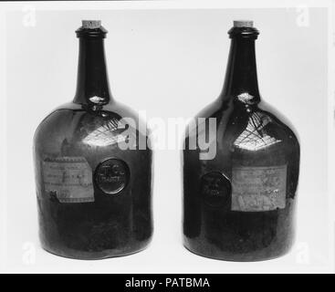 Wine Bottle  Culture: British, probably  Dimensions: H  11