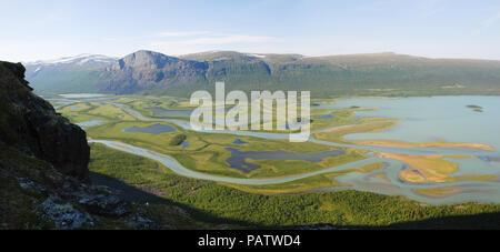 The Beauty of Northern Sweden  - Rapaätno Delta. Jokkmokk, Norrbotten, Sweden.