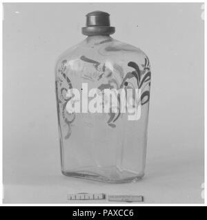 Bottle  Culture: German  Dimensions: Height: 6 1/4 in  (15 9