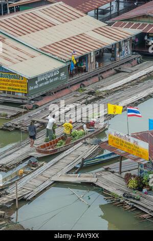 Sangkhlaburi, Kanchanaburi province,  Thailand - Stock Photo