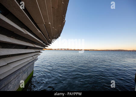 The V&A Dundee Design Museum in Scotland - Stock Photo