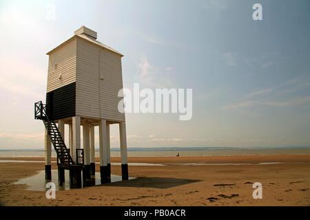 Burnham on Sea Low Lighthouse - Stock Photo