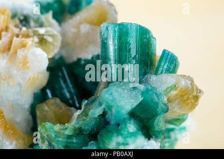 Tourmaline mineral stone - Stock Photo