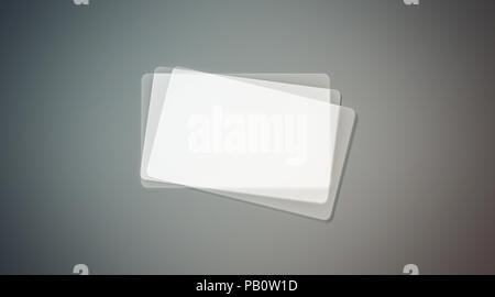 Blank plastic transparent business cards mock up 3d rendering blank plastic transparent business cards stack mock up 3d rendering clear pvc namecard mockup colourmoves
