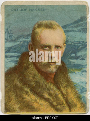 Fridtjof Nansen (1861-1930), Norwegian Explorer, Diplomat, Humanitarian and Recipient of 1922 Nobel Peace Prize, Portrait, 1890's - Stock Photo