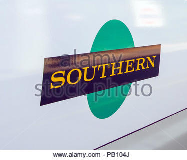 Embargoed to 0001 Thursday July 26 File photo dated 11/06/15 of a Southern rail logo, as the company has been named among the most improved brands by UK consumers in a ranking topped by John Lewis. - Stock Photo