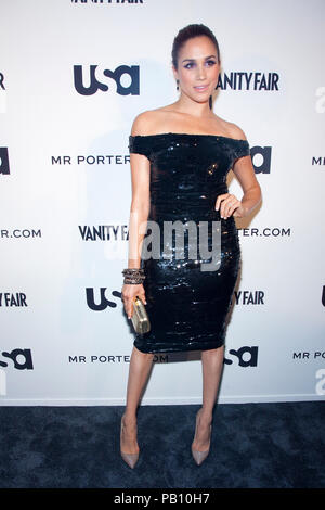 Meghan Markle at the USA Network and Mr. Porter Presents 'A SUITS STORY' event at NYC's High Line in New York City. - Stock Photo