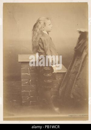 Le montagnard. Artist: Pierre-Louis Pierson (French, 1822-1913). Dimensions: 8.6 x 12.1 cm. (3  3/8  x 4  3/4  in.). Date: 1860s. Museum: Metropolitan Museum of Art, New York, USA. - Stock Photo