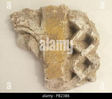 Fragment. Dimensions: L 10cm x W 9.5 x H 3. Date: probably 8th-12th century. Museum: Metropolitan Museum of Art, New York, USA. - Stock Photo