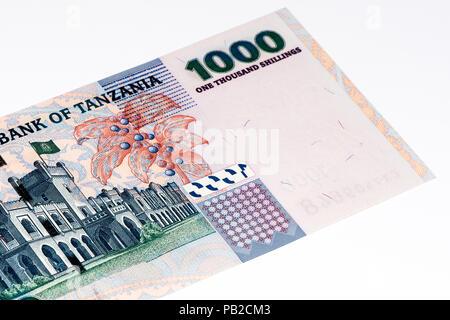 1000 Tanzanian Shillings Bank Note Tanzanian Shilling Is The