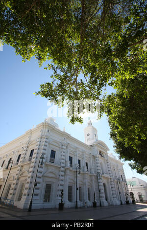 El palacio municipal de Hermosillo y palacio de gobierno del estado de Sonora