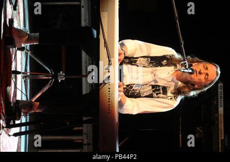 Liverpool,Uk Supertramp star Roger Hodgson performs at Liverpool Philharmonic Hall credit Ian Fairbrother/Alamy Stock Photos - Stock Photo