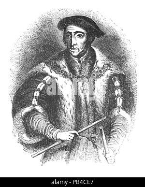 henry viii. portrait of king henry viii, after hans