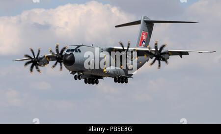Airbus A400 Atlas transport aircraft - Stock Photo