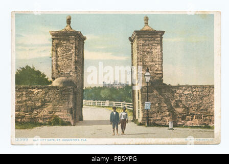1130 Old City Gate, St. Augustine, Fla (NYPL b12647398-69884) - Stock Photo