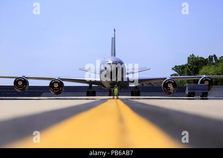 U.S. Air Force KC-135R Stratotanker - Stock Photo