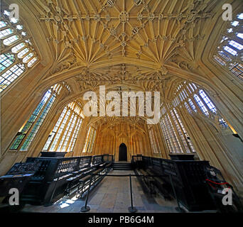 Divinity School, Bodleian Library, Broad Street, Oxford, Cottswolds, South East England, UK - Stock Photo