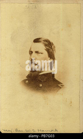 Winfield Scott Hancock Major General Union Stock Photo 163591849