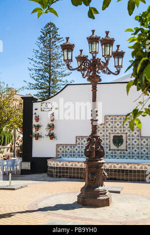 plaza Casa Canada i Estepona Spain - Stock Photo