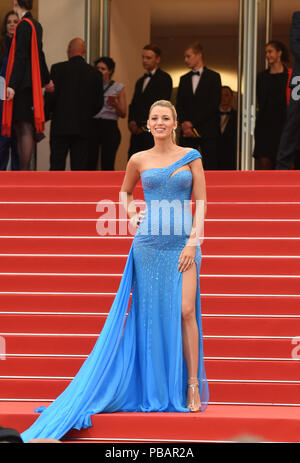 May 14, 2016 - Cannes, France: Blake Lively attends the 'The BFG' premiere during the 69th Cannes film festival.  Blake Lively lors du 69eme Festival de Cannes. *** FRANCE OUT / NO SALES TO FRENCH MEDIA *** - Stock Photo
