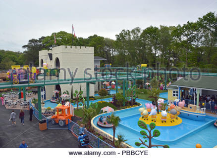 File photo dated 12/05/2018 of of Peppa Pig World at Paultons Park, near Romsey, Hampshire, which has been named the top UK amusement park for the third year in a row and included in the top 25 worldwide. - Stock Photo