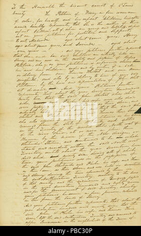 Petition of Winny, a free woman of color, to the St  Louis