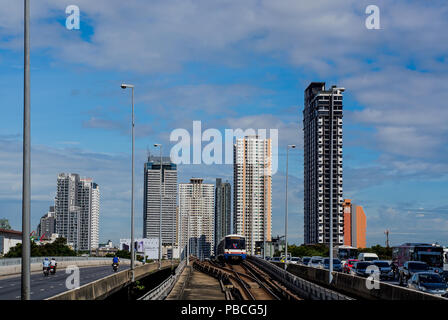 Bangkok, A city of smile and buildings - Stock Photo
