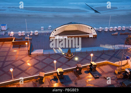 Promenade of Westerland, Sylt, North frisian Island, Schleswig-Holstein, Germany, Europe - Stock Photo
