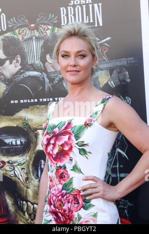 Premiere of 'Sicario: Day of the Soldado' held at the Westwood Regency Theater in Los Angeles, California  Featuring: Elisabeth Rohm Where: Los Angeles, California, United States When: 26 Jun 2018 Credit: Sheri Determan/WENN.com - Stock Photo