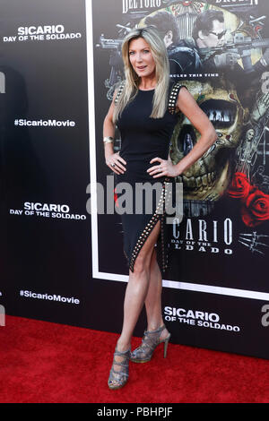 Premiere of 'Sicario: Day of the Soldado' held at the Westwood Regency Theater  Featuring: Guest Where: Los Angeles, California, United States When: 26 Jun 2018 Credit: Sheri Determan/WENN.com - Stock Photo