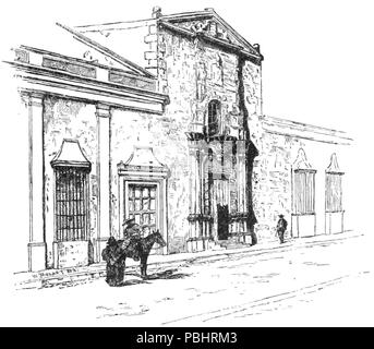 1752 TLM D045 Ancient house - Stock Photo