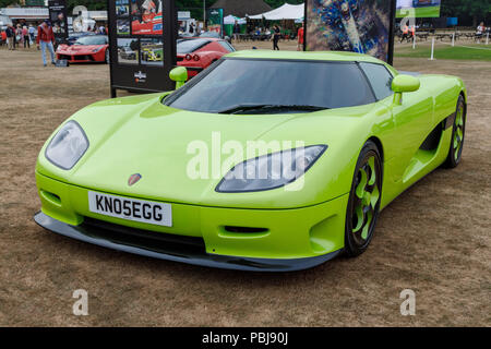 Koenigsegg Ccr Representing The 2004 Meeting At The 2018 Goodwood