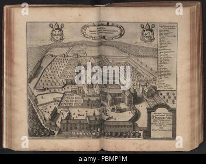 Abdij van Averbode - 1659. - Stock Photo
