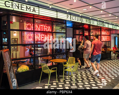 PictureHouse Central Cinema on Shaftesbury Avenue near Piccadilly Circus in Central London - Stock Photo