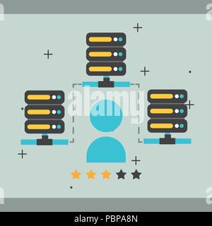 big data concept - Stock Photo
