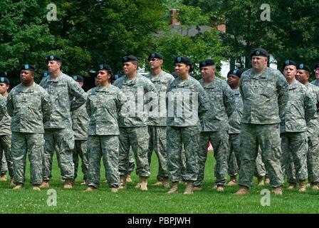 Massachusetts National Guard deployment in Lexington, Middlesex County, Massachusetts, USA - Stock Photo